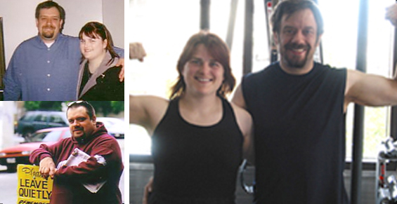 Garrett & Lisa (Before and After)